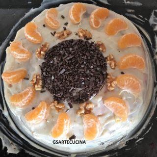 Torta leggero agro sorriso