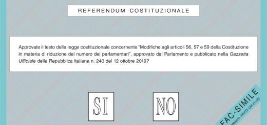 Referendum 2020: Si - No - Cosa cambia in Democrazia