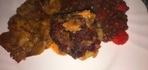 Zuppa di Lenticchia in Carciofi ripieni