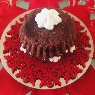 Mini Cake cuore di cioccolato