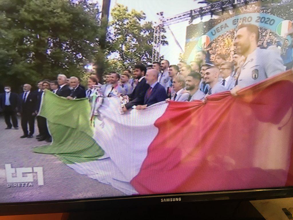 Italia Campione d'europa - Gli Azzurri regalano il sogno